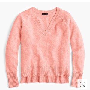 J.Crew v-neck sweater in super soft yarn